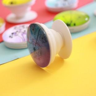 پاپ سوکت کریستالی طرح قاصدک Dandelion Crystal POP Socket