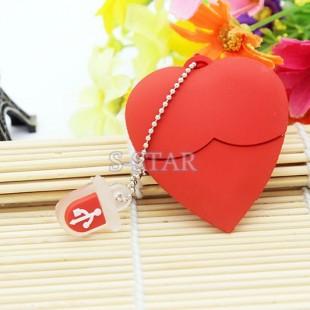 فلش مموری USB Toys USB Flash Memory for USB Flash Memory 16GB فلش 16 گیگابایتی فانتزی قلب