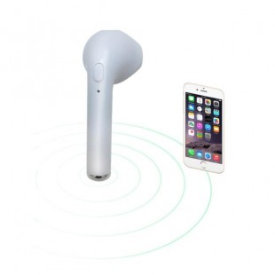 هندزفری بلوتوث طرح ایرپاد تک گوشی TWS i7 1-1 Bluetooth HandsFree