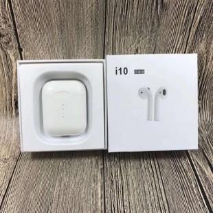 هندزفری بلوتوث طرح ایرپاد i10 Bluetooth HandsFree