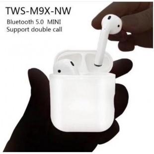 هندزفری بلوتوث طرح ایرپاد NW M9x Bluetooth HandsFree