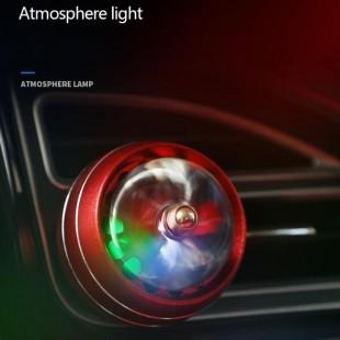 خوشبو کننده هوا لاکچری چراغ دار LED Car Air Freshner