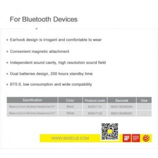 هندزفری بلوتوث گردنی بیسوس Baseus Encok Wireless Headphone S17 NGS17-01