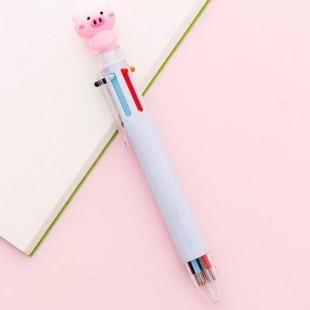 خودکار 6 رنگ خوک