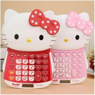 ماشین حساب فانتزی طرح هلوکیتی Hello Kitty XD-1101 Calculator