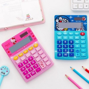 ماشین حساب فانتزی طرح هلوکیتی Hello Kitty DD-506 Calculator