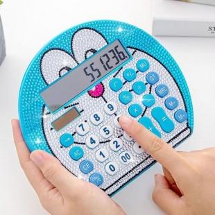 ماشین حساب فانتزی نگین دار طرح دورائمون Hello Kitty DD-020 Calculator