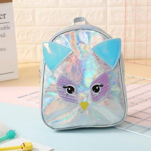 کوله پشتی هولگرامی طرح جغد OWL Hologram School Bag