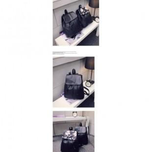 کیف و کوله پشتی چرمی گل دار کد 29-30
