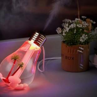 دستگاه بخور سرد طرح لامپ Humidifier USB Lamp