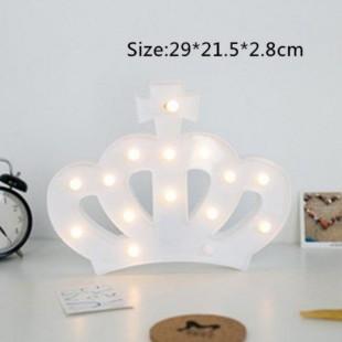 چراغ LED سه بعدی طرح تاج
