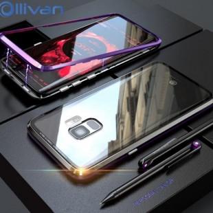 قاب مگنتی شیشه ای سامسونگ Magnet Bumper Case Samsung Galaxy A6