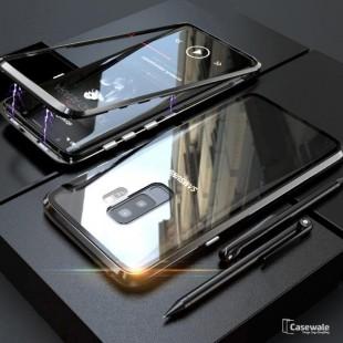 قاب مگنتی شیشه ای سامسونگ Magnet Bumper Case Samsung Galaxy A6 Plus