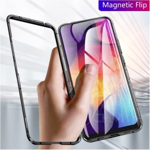 قاب مگنتی شیشه ای سامسونگ Magnet Bumper Case Samsung Galaxy A70