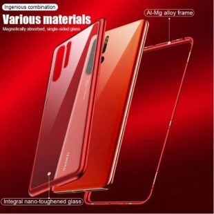 قاب مگنتی شیشه ای گوشی هواوی Magnet Bumper Case Huawei P30 Pro