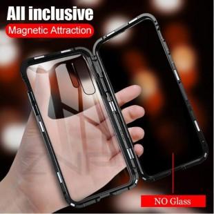 قاب مگنتی شیشه ای هواوی Magnet Bumper Case Huawei P30 Lite