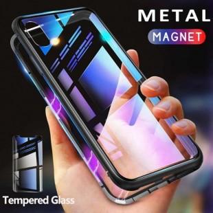 قاب مگنتی شیشه ای سامسونگ Magnet Bumper Case Samsung Galaxy A10s