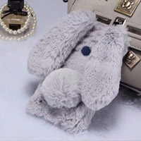 قاب ژله ای خزدار Rabbit Fur Pearl ear Case for Huawei Honor 8
