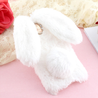 قاب ژله ای خزدار Rabbit Fur Pearl ear Case Samsung Galaxy J5 Pro