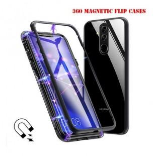 قاب مگنتی شیشه ای Magnet Bumper Case Huawei Mate 20 Lite