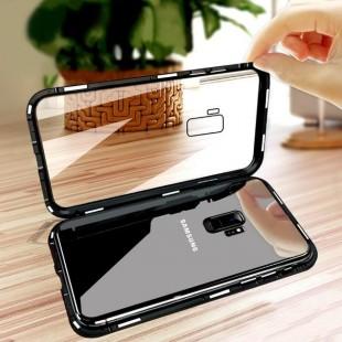 قاب مگنتی شیشه ای سامسونگ Magnet Bumper Case Samsung Galaxy J8