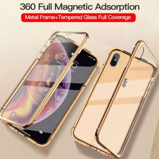 قاب مگنتی شیشه ای آیفون Magnet Bumper Case Apple iPhone 11 Pro