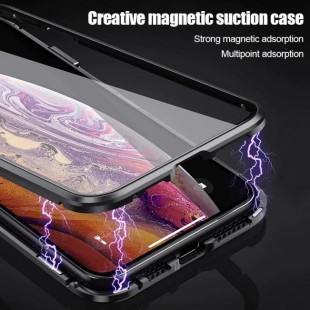 قاب مگنتی شیشه ای آیفون Magnet Bumper Case Apple iPhone 11 Pro Max