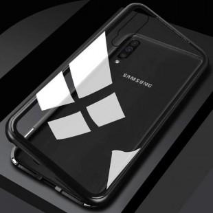قاب مگنتی شیشه ای سامسونگ Magnet Bumper Case Samsung Galaxy A50
