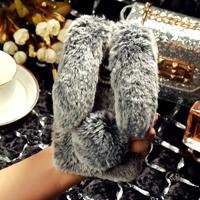 قاب ژله ای خزدار Rabbit Fur Pearl ear Case LG K10