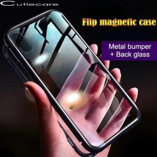 قاب مگنتی شیشه ای گوشی سامسونگ Magnet Bumper Case Samsung A20E