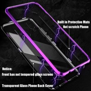 قاب مگنتی شیشه ای گوشی سامسونگ Magnet Bumper Case Samsung A40