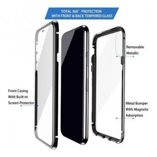 قاب مگنتی شیشه ای سامسونگ Magnet Bumper Case Galaxy A20s