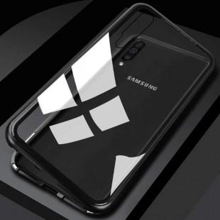 قاب مگنتی شیشه ای سامسونگ Magnet Bumper Case Samsung Galaxy A30s