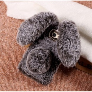 قاب ژله ای خزدار خرگوشی Rabbit Fur Galaxy Grand Prime Pro