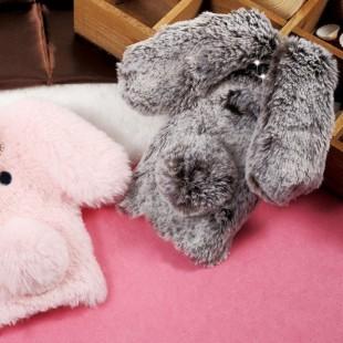 قاب ژله ای خزدار خرگوشی Rabbit Fur Case Huawei Y6 2