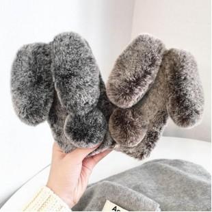 قاب ژله ای خزدار خرگوشی Rabbit Fur Case Huawei P20 Pro