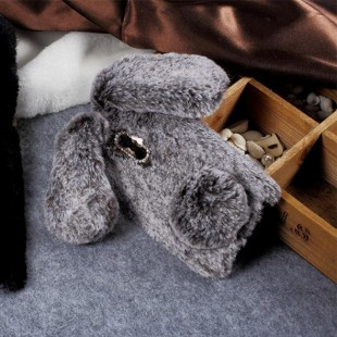 قاب ژله ای خزدار خرگوشی Rabbit Fur Case Huawei Mate 10
