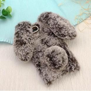 قاب ژله ای خزدار خرگوشی Rabbit Fur Case Huawei Honor 7X