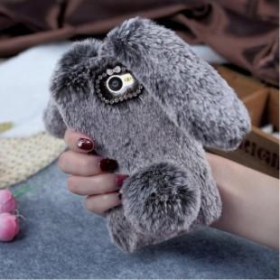 قاب خرگوشی خزدار سامسونگ گلکسی Rabbit Fur Samsung Galaxy J4 Plus