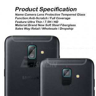 محافظ LCD شیشه ای Lens Glass گلس لنز دوربین Screen Protector.Guard Samsung Galaxy A8 Plus 2018