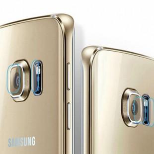 محافظ LCD شیشه ای Lens Glass گلس لنز دوربین Screen Protector.Guard Samsung Galaxy S6 Edge