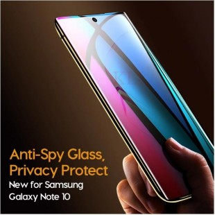 گلس ضد جاسوسی سامسونگ نوت Privacy Glass Samsung Galaxy Note 10