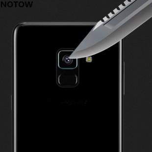 محافظ LCD شیشه ای Lens Glass گلس لنز دوربین Screen Protector.Guard Samsung Galaxy A8 2018