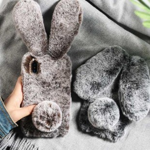 قاب خرگوشی خزدار سامسونگ گلکسی Rabbit Fur Samsung Galaxy A80
