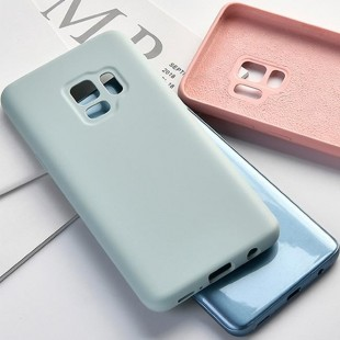 قاب سیلیکونی Silicon Case Samsung Galaxy A6 Plus 2018