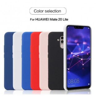 قاب سیلیکونی Silicon Case Huawei Mate 20 Lite
