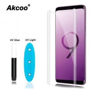 گلس UV سامسونگ UV Curve Glass Samsung Galaxy S9 Plus