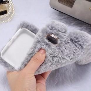 قاب ژله ایخزدار Rabbit Fur Case for Apple iPhone 7