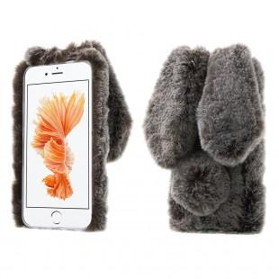 قاب ژله ای خزدار Rabbit Fur Case for Apple iPhone 7 Plus