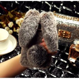 قاب خرگوشی خزدار آیفون Rabbit Fur Case Apple iPhone Xs Max